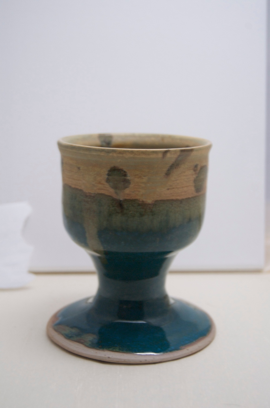 Some of my Pottery: ShotGoblet